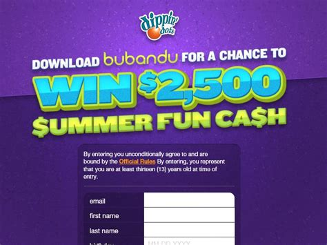 Cash Sweepstakes Ending Today - the dippin dots summer fun cash sweepstakes