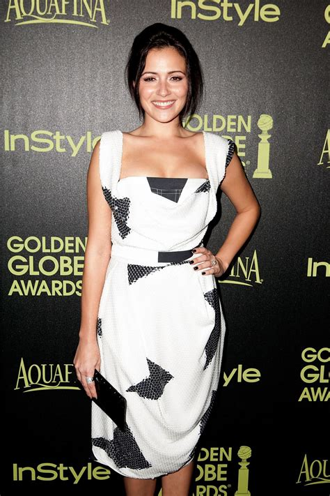 Ricci In Italian Vogue by Italia Ricci At Hfpa Instyle Celebrate 2015 Golden Globe