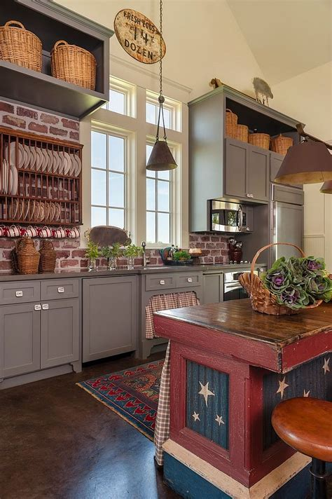Farmhouse Kitchen Design Ideas by 50 Trendy And Timeless Kitchens With Beautiful Brick Walls