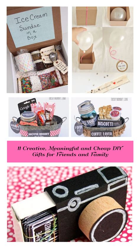 ideas on what to get friends cheap on pinterest cheap diy gifts for friends diy do it your self