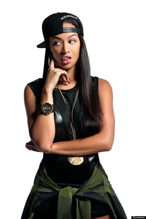 hip hop models 2013 pictures draya michele for rocawear basketball wives star poses