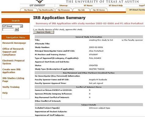 Rpi Irb Template Based Research Irbaccess Help Office Of Research Support And Compliance