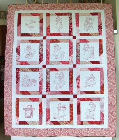 Sewing Quilt by Sewing Children S Story Quilt Advanced Embroidery