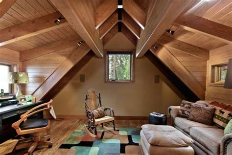 attic design wooden attic ceilings advantages and design ideas