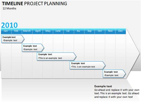 Project Timeline Powerpoint Template Briski Info Project Timeline In Powerpoint