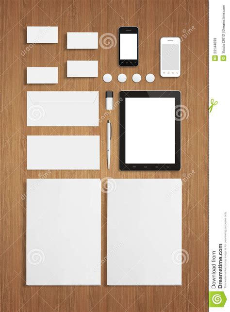 stationery business card templates blank stationery corporate id template on wooden