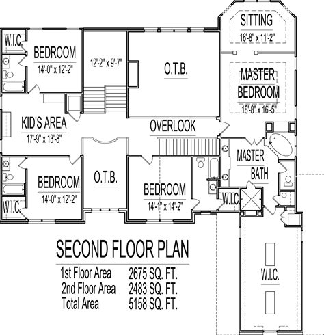 how many square feet is a 3 car garage 5000 sq ft house floor plans 5 bedroom 2 story designs
