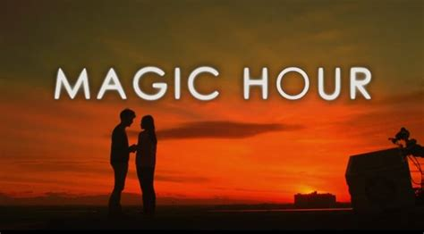 esai film magic hour michelle ziudith dimas anggara adegan romantis di tengah