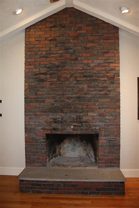 Chimeneas Rusticas De Ladrillo #2: Beforebrickfireplaceblog.jpg