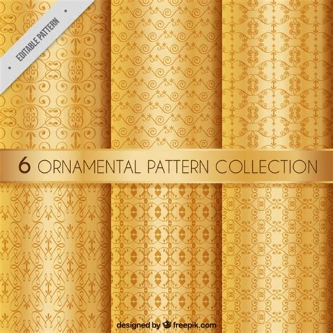 ornamental pattern ai elegant ornamental patterns vector free download