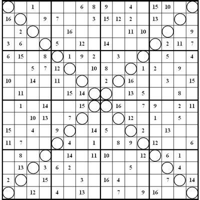 printable sudoku 16x16 image result for free 16x16 super challenger sudoku