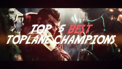 best top laners top 5 best top laners patch 6 5 season 6 league of