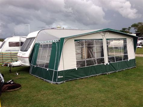 inaca caravan awnings caravan awning inaca sands 950 green and grey in