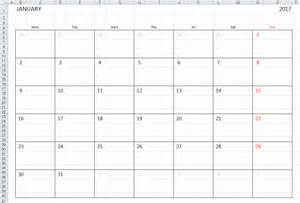 excel calendar template simple 2017 2018 excel calendar template