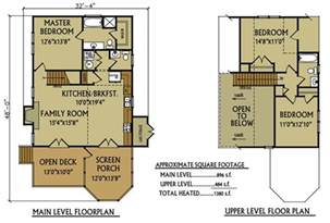 small lake home floor plans small cabin floor plan 3 bedroom cabin by max fulbright
