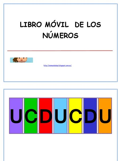 libro los numeros mi mundo de pedagog 205 a terape 218 tica libro m 211 vil de los