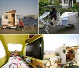 bike home bike cers 12 mini mobile homes for nomadic cyclists