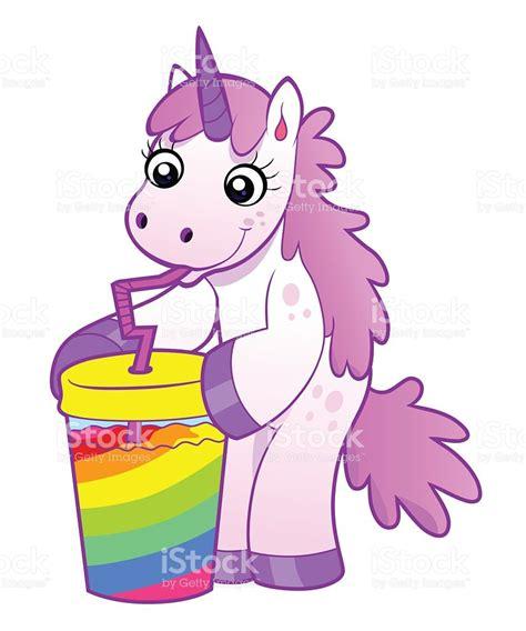 imagenes de unicornios locos einhorn getr 228 nke rainbow cocktail vektor illustration