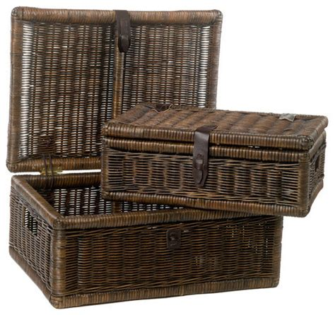 decorative covered baskets the basket lady covered wicker storage basket reviews