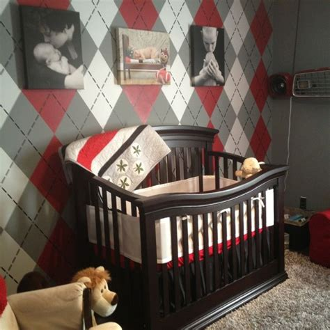 ohio state rooms baby boys completed ohio state nursery with argyle football sea baby