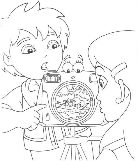 go coloring pages diego coloring pages coloring pages to print