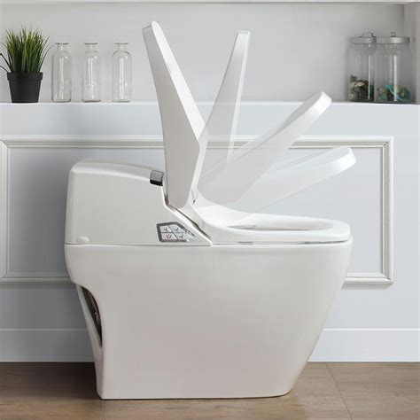 2 In 1 Toilet And Bidet by Ove Decors Smart 1 1 6 Gpf Elongated Toilet And