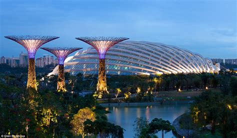 Garden Of Singapore Ecological Urbanism In Singapore Supertrees By The Bay