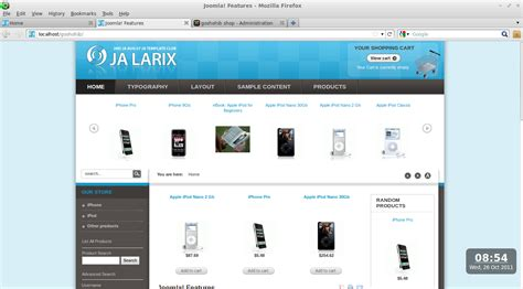 cara mengganti logo template joomla linux goshohib blog