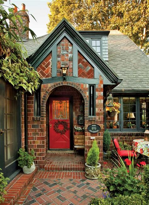 Hobbit Kitchen by A Textbook 1920s Tudor In Portland Old House Online