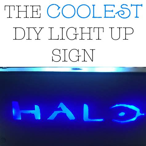 The Coolest Diy Light Up Sign Sincerely Saturday Light Up Sign