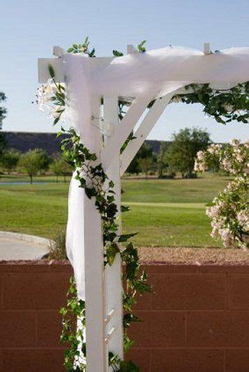 Best 20  Wedding arch tulle ideas on Pinterest