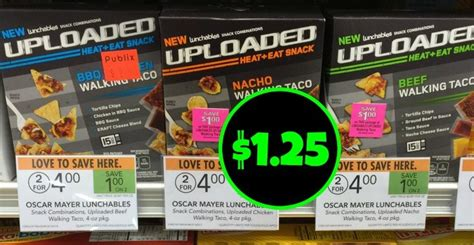 Lunchables Sweepstakes - lunchables uploaded walking taco just 1 25 at publix