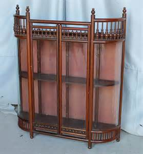 Antique Curio Display Cabinet Bargain S Antiques 187 Archive Antique Mahogany