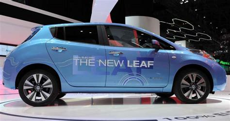 how many nissan leafs been sold the new nissan leaf arrives in geneva