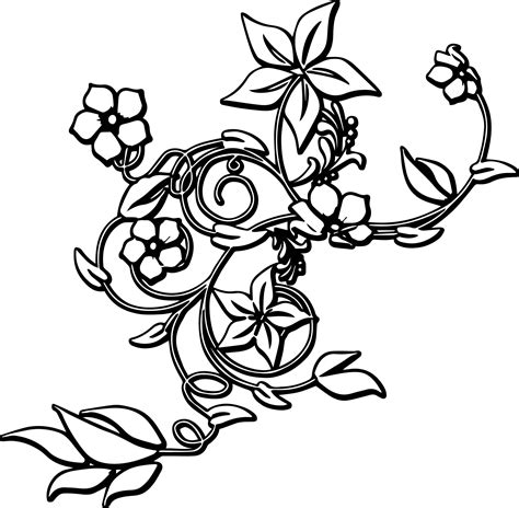 rose border coloring page flowers frame coloring sheet coloring page flower border