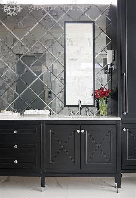 black bathroom vanity white marble top design ideas