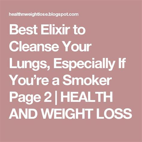 Detox Your Lungs by Best 25 Lung Cleanse Ideas On Lung Detox