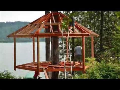 how to make a house a home treehouse build timelapse youtube