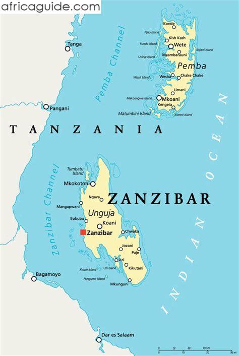 printable map of zanzibar zanzibar google search zanzibar pinterest
