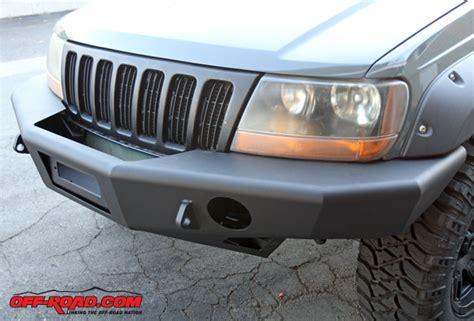 Jeep Grand Front Bumper Trail Ready Jeep Grand Wj Front Bumper Install