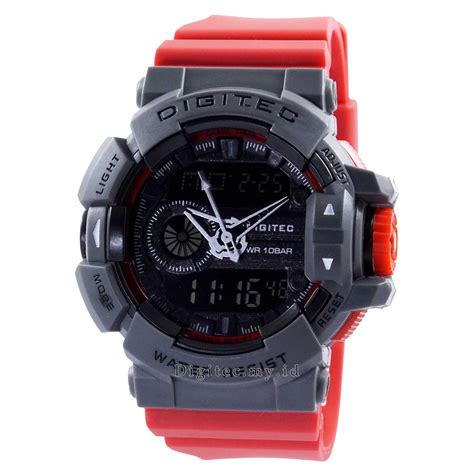 digitec dg 2080t grey color jam tangan sport