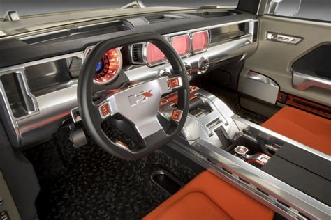 Classic Car With Modern Interior by Hummer Hx Etoday