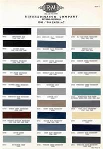 Cadillac Paint Colors Official Cadillac Color Names And Paint Codes Page 4