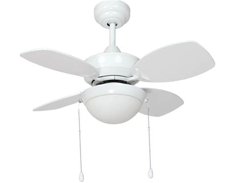 Fantasia Kompact Small 28 Quot Ceiling Fan Led Light Gloss Fantasia Ceiling Fan Lights