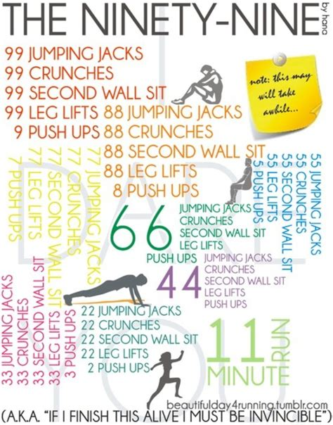 Bedroom Workout Routine The Ninety Nine Workout Live Inspired