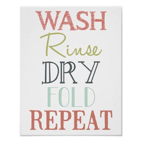 laundry design poster laundry room subway art posters zazzle