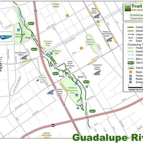 san jose trails map lower guadalupe river trail 64 photos hiking