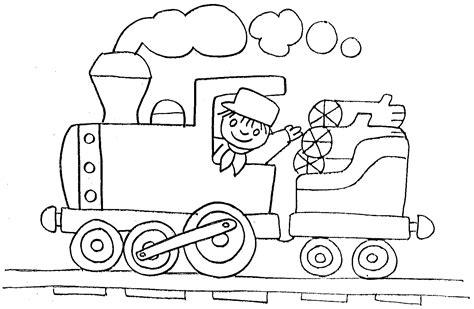 imagenes para colorear un tren dibujos para colorear de transportes coches barcos