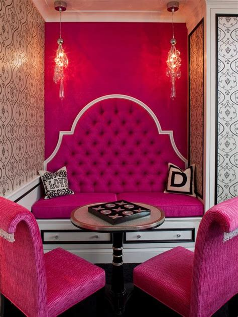 hot pink wallpaper for bedroom 30 pin worthy fuchsia home d 233 cor ideas digsdigs