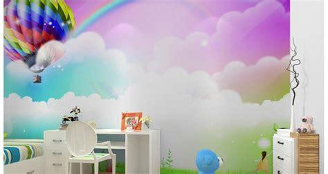 rainbow wallpaper for room custom 3d wallpaper children room rainbow mural background photo 3d wallpaper room